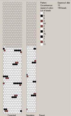 Узоры для вязаных жгутиков-шнуриков 4 | biser.info - всё о бисере и бисерном творчестве