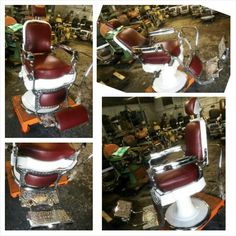 $$$$AVAIL CHAIRS$$$$$ :-) Antique barber chair restoration chrome porcelain upholstry parts repair vintage koken, theo a kochs, interior design, decorating, prop rental, pickers  barber chair antique  FOR INFORMATION CALL 917-553-1619 OR EMAIL custombarberchairs@gmail.com  Ok PLEASE READ!!!!!!! Before you message me.  1. Our zipcode is 11552.    2. Contact www.uship.com to work our freight chairs are 350lbs each.  3. Have ur budget in place $500-$5000 we have starter chairs and restored…