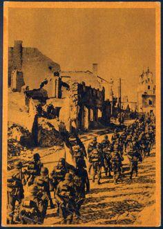 Tagmaton Varangan — Postcard from the: - The Blue division. -...