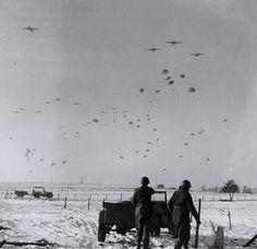 An airdrop during the Bulge