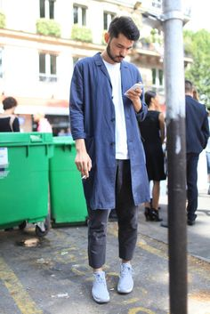 Paris Men's Fashion Week street style Spring 2015