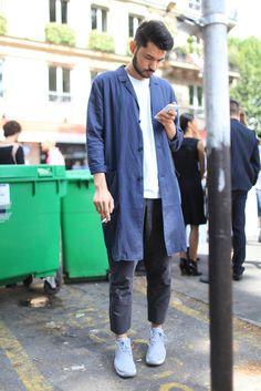 Paris Men's Fashion Week street style Spring 2015
