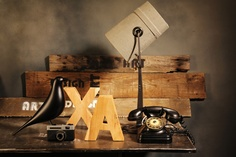 Photo Styling - Industrial Concept by Laura Gergely, via Behance
