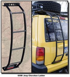 Custom rear ladder for XJ