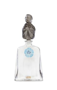 Lot: 1926 Baccarat - Petite Fleur Bleue bottle, Lot Number: 0142, Starting Bid: $1,500, Auctioneer: Perfume Bottles Auction, Auction: Perfume Bottles Auction, Date: May 5th, 2017 CDT