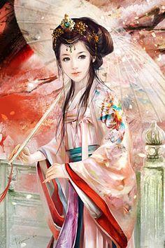 40 Elegant & Beautiful Girls Illustrations by Phoenix Lu   The Design Inspiration