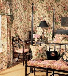 Image detail for -... floral Contemporary French Country Style Bedroom Interior Design