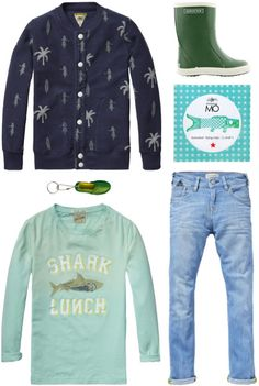 A cool casual look for boys | Scotch Shrunk and Bergstein | www.eb-vloed.nl