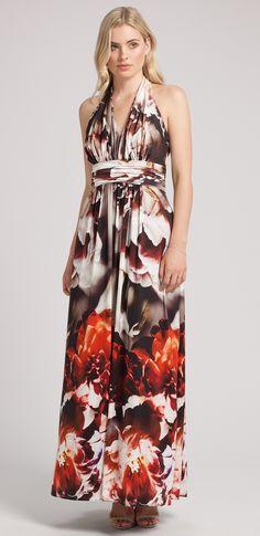 buymadesimple.com: Fiona Halterneck Maxi Dress
