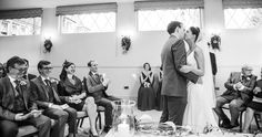 Wedding ceremony at Horsted Place