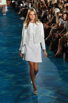 tory burch fashion show | the runway at the Tory Burch fashion show during Mercedes-Benz Fashion ...