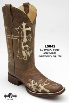 Circle G square toed for $139!  417-334-7075 to order your size!