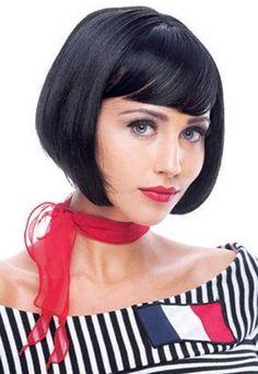 Trendy Chin Length French Bob Haircut