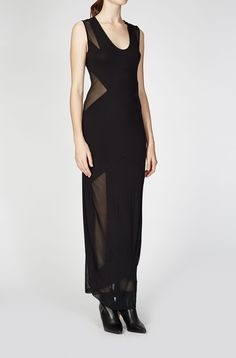 Religion | LIBIDO MAXI DRESS JET BLACK_
