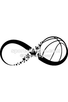 Basketball Infinity by Sports Art Zoo. If you want to use this design please pay for it. It is not expensive.