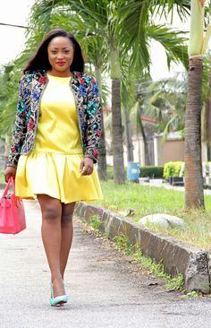 Toun 'AJ': Yellow alert  #fashionBlogger #streetstyle #womensfashion