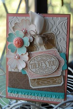 Flower Shop and Chalk Talk Stamps from Stampin' Up! @ www.kerrysstampinspiration.blogspot.com