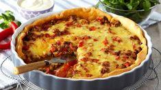 Oppskrift på en god pai som passer for hele familien. Tacopai er et godt alternativ til fredagstacoen.
