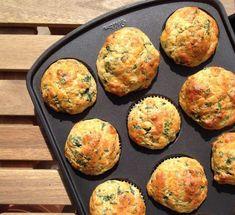 Baby Breakfast, Breakfast Snacks, Muffin Tin Recipes, Nutrition, Cheddar, Vegan Vegetarian, Entrees, Vegan Recipes, Food And Drink