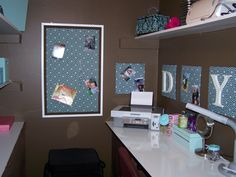 Small Places Closet/Craft Room