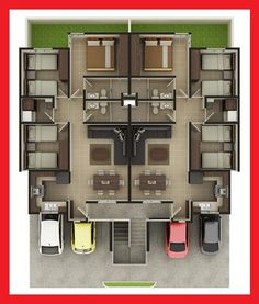 Ver fachada en: http://fachadascasasmodernas.blogspot.mx/2013/06/fachada-moderna-de-casa-en-centrika.html