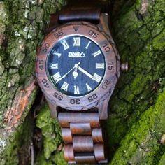 dřevěné hodinky Jedi od TimeWood
