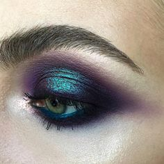 """3,786 Likes, 30 Comments - Maria Lihacheva ApropoMakeup (@apropomakeup) on Instagram: """"love this color combo My work on my basic course •••#nophotoshop #nofilter #noedit ••• #closeup…"""""""