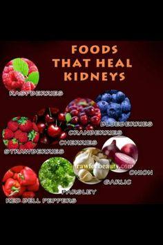 Kidney healing foods
