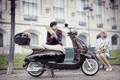 Peugeot scooters, Peugeot Django, Django scooter, vintage scooter, retro scooter, old time scooter
