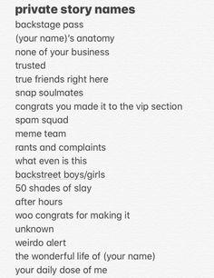 Noms Snapchat, Cute Snapchat Names, Story Snapchat, Snapchat Friend Emojis, Snapchat Story Questions, Snapchat Quotes, Snapchat Selfies, Snapchat Girls, Name For Instagram