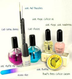 Essiebutton nail care routine