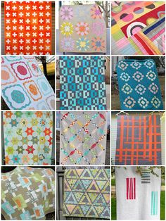 Inspiration quilts from Sew Kind of Wonderful
