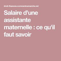 Salaire d'une assistante maternelle : ce qu'il faut savoir