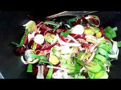 Devaneios Culinários da Tiazinha: Arroz de beterra e alho francês