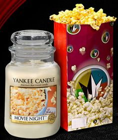 Yankee Candle launches popcorn scented candle:: Haven't seen this, it would be so yummy! Yankee Candles, Bougie Yankee Candle, Yankee Candle Scents, Scented Candles, Soy Candles, Bath Body Works, Candle Accessories, Diy Inspiration, Home Scents