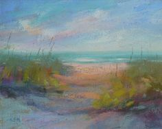 Painting my World: Beach Week...How to Paint Shadows on Sand  Karen Margulis
