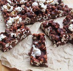 Salted caramel popcorn chocolate