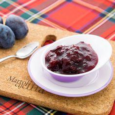 CONFETTURA DI PRUGNE #confettura #marmellata #prugne #colazione #frutta #vegetariana #microonde #farcitura #dolce