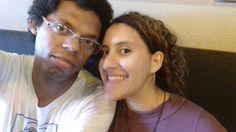 Capuccino e cookie no melhor café  de Miami, na melhor companhia do mundo. te amo amor