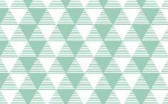 stripey triangles fabric by myracle on Spoonflower - custom fabric
