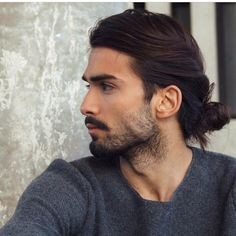 Devran hair beard grey sweater tumblr Style men