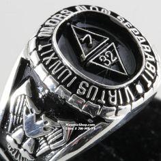 Scottish Rite Masonic Ring