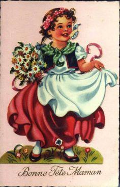 Carte Fête des mamans