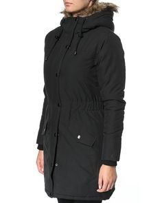 CHEAPLOADER stay warm jakke – Jakker og overtøj – Sort