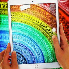 "204 Likes, 11 Comments - Zareen Taj Hidhayath (@zareensart) on Instagram: ""Rainbow Mandala🌈Love for colors 😍 . #rainbow #colour #colors #rainbowcolors #coloringbookforadults…"""