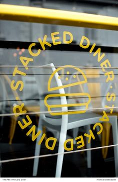 Feast on Fresh Food Made Real Quick at Stacked Diner Burger Toppings, Beef Burgers, Real Quick, Menu Items, Cape Town, Neon Signs, Fresh, Make It Yourself, Unique