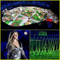 Rio Olympics Opening Ceremony 2016 - 100 Stunning Photos