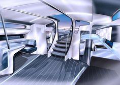 Design Unlimited unveils interior of Infiniti 100S - Interior Design - SuperyachtTimes.com