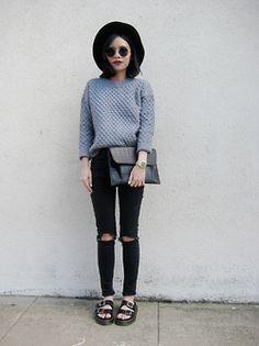 me fashion style black blogger grey minimal minimalistic ootd fashion blogger oasap fbloggers minimal fashion