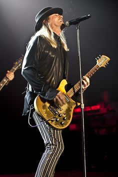 Robin Zander - lead singer for Rockford, Illinois power pop quartet, Cheap Trick, a 2016 inductee to the Rock & Roll Hall of Fame.